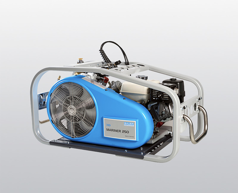 BAUER MARINER 250 high-pressure compressor with petrol engine