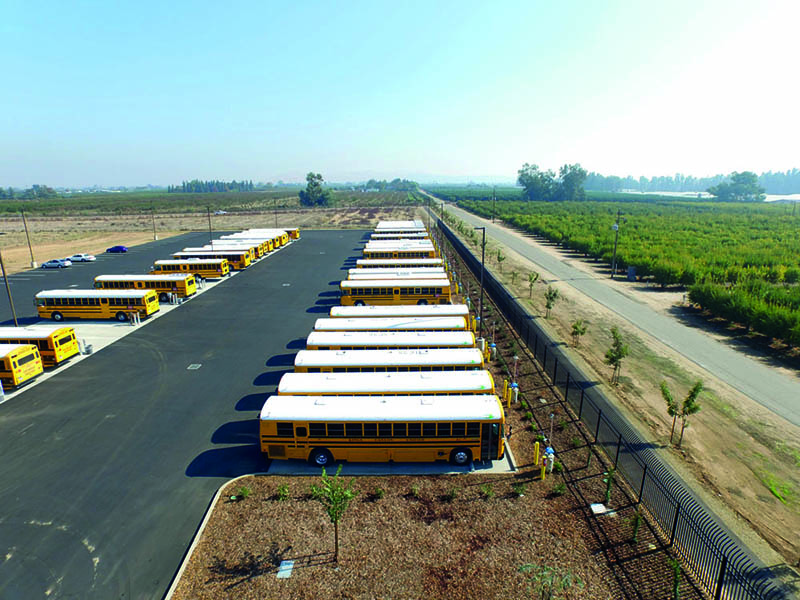 Reedley District's CNG vehicle fleet is constantly growing, and already has 33 vehicles