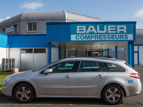 Company building of BAUER France