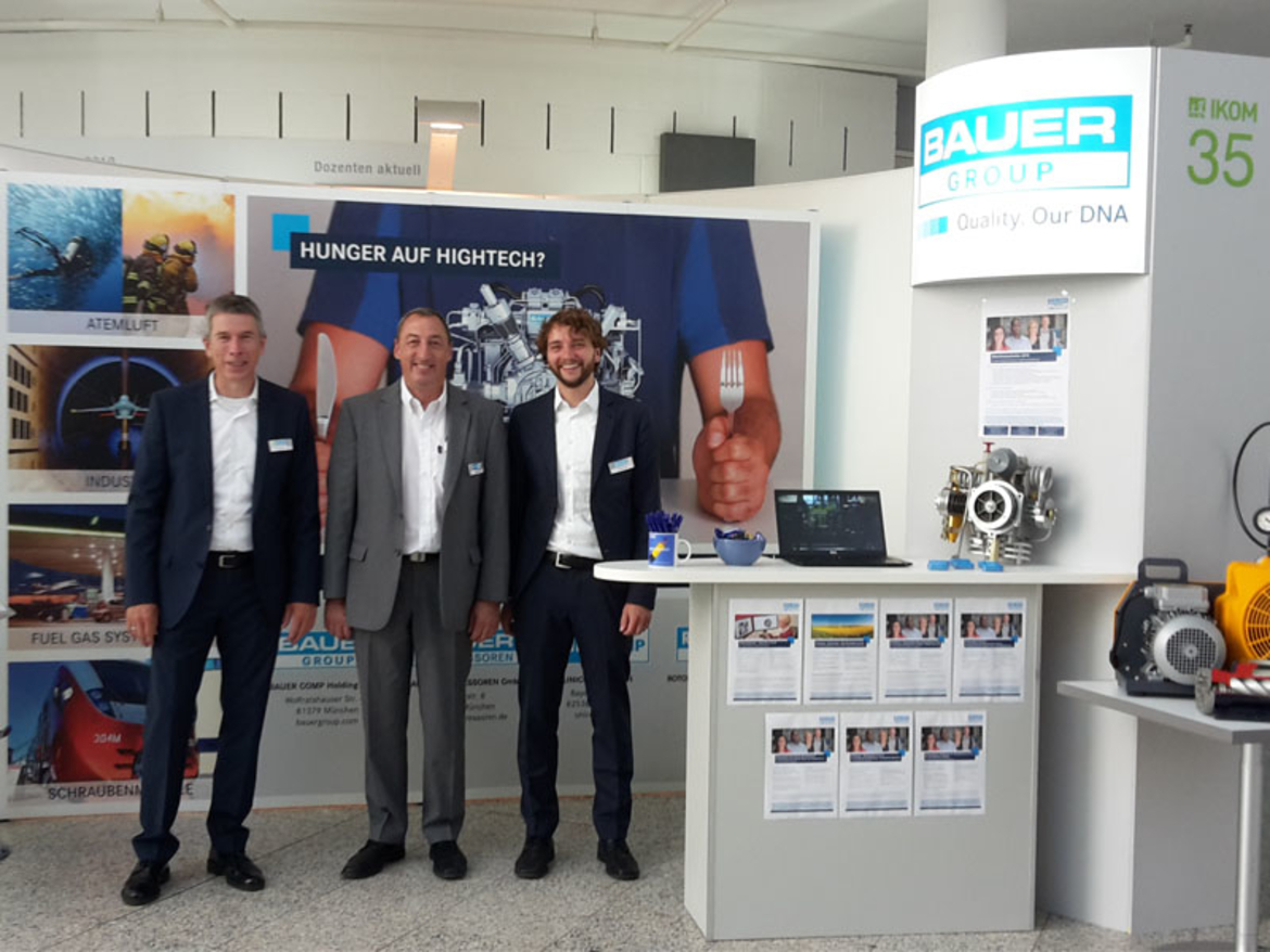 BAUER GROUP at IKOM 2019, Munich