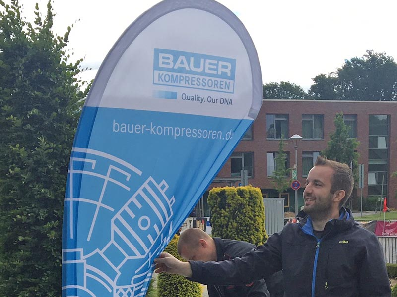 TFA Mönchengladbach_ The organizers were delighted at the reliable supply of breathing air by BAUER